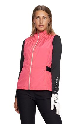 Show details for Rohnisch Ladies Mila Wind Vest / Gilet - Berry