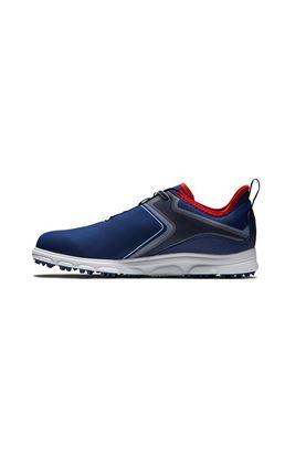 Show details for Footjoy Men's SuperLites XP Golf Shoes - Navy / White / Red