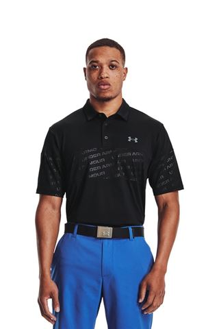 Picture of Under Armour Men's UA Playoff 2.0 Blocked Polo Shirt - Black 001