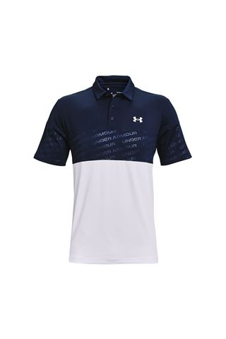 Picture of Under Armour Men's UA Playoff 2.0 Blocked Polo Shirt - Navy 408