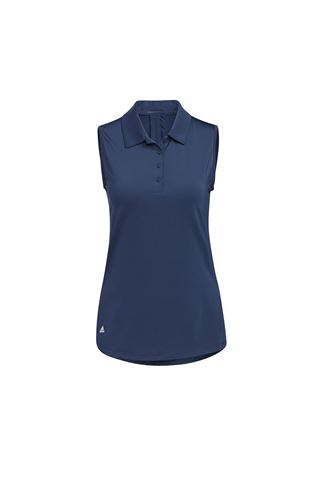 Picture of adidas Women's Ultimate 365 Solid Sleeveless Polo Shirt - Crew Navy