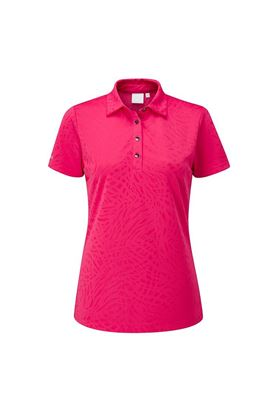 Show details for Ping Ladies Bronte Polo Shirt - Rosebud