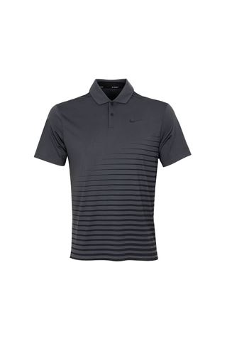 Picture of Nike Golf Men's Dri - Fit Vapor Graphic Polo Shirt - Smoke Grey / Black 070