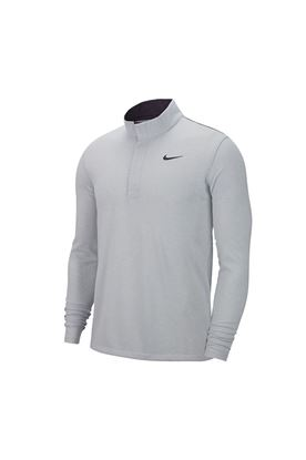Show details for Nike Golf Men's Dri - Fit Victory 1/2 Zip Sweater - Sky Grey 042