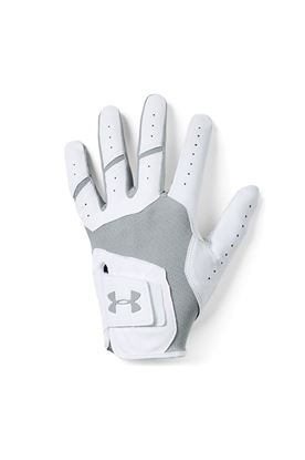 Show details for Under Armour Men's UA Iso-Chill Golf Glove - White / Grey