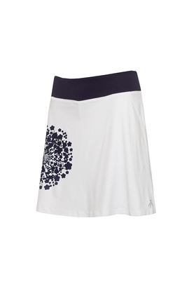 Show details for Green Lamb Ladies Molly Printed Flared Skort - Dandelion