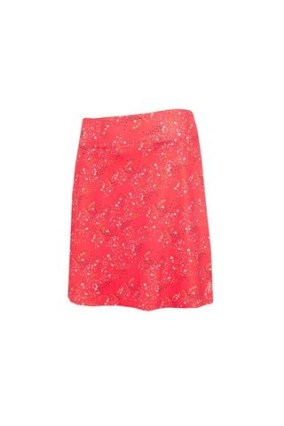 Picture of Green Lamb Ladies Molly Printed Flared Skort - Diamonds