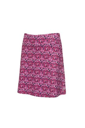 Show details for Green Lamb Ladies Molly Printed Flared Skort - Petal