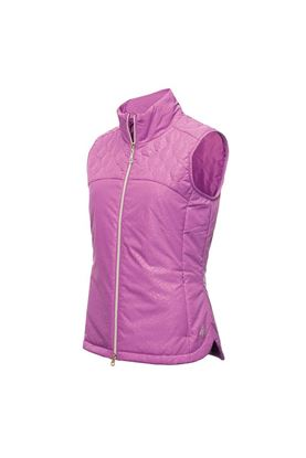 Show details for Green Lamb Ladies Khloe Quilted Padded Gilet - Violet