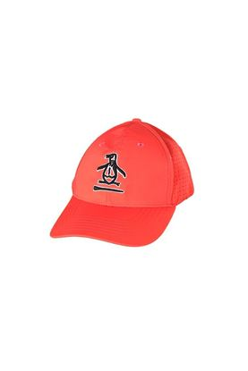 Show details for Original Penguin Men's Pete Over Tee Cap - Hot Coral