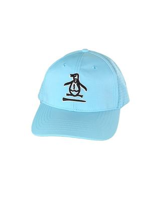 Show details for Original Penguin Men's Pete Over Tee Cap - Tanager Turquoise