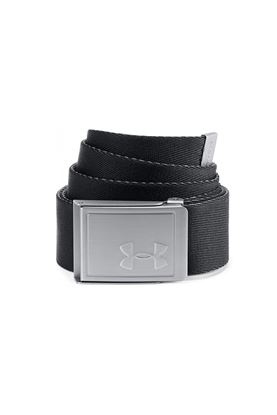 Show details for Under Armour Men's UA Reversible Webbing Belt - Black 02