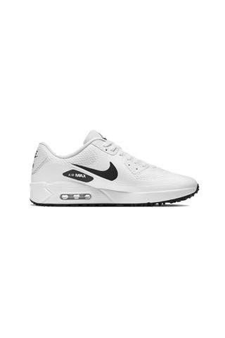 Picture of Nike Golf Men's Air Max 90 G Golf Shoes - White / Black 101