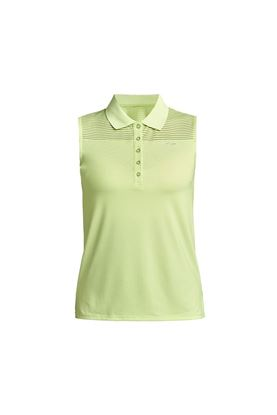 Show details for Rohnisch Ladies Miko Sleeveless Polo Shirt - Lime
