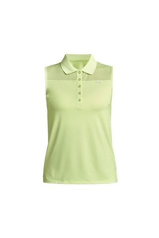 Picture of Rohnisch Ladies Miko Sleeveless Polo Shirt - Lime