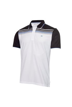 Show details for Calvin Klein Men's Nelson Polo Shirt - White / Black