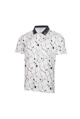 Show details for Calvin Klein Men's Sarazen Polo Shirt - White