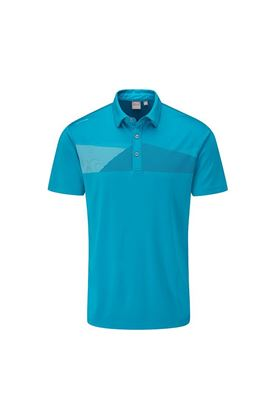 Show details for Ping Men's Holten Golf Polo Shirt - Pacific
