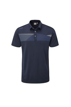 Show details for Ping Men's Holten Golf Polo Shirt - Navy