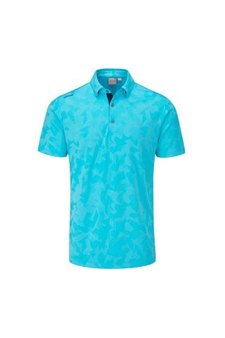 Picture of Ping Men's Romy Golf Polo Shirt - Marine Blue