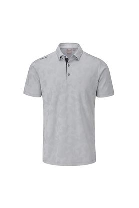 Show details for Ping Men's Romy Golf Polo Shirt - Silver