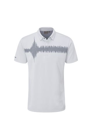 Picture of Ping  Men's Frequency Golf Polo Shirt - Silver