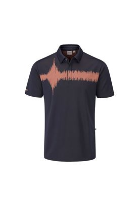 Show details for Ping Men's Frequency Golf Polo Shirt - Navy