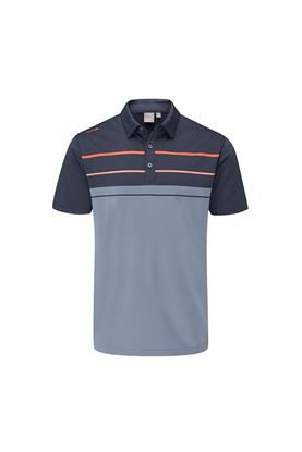 Show details for Ping Men's Staton Golf Polo Shirt - Greystone Multi