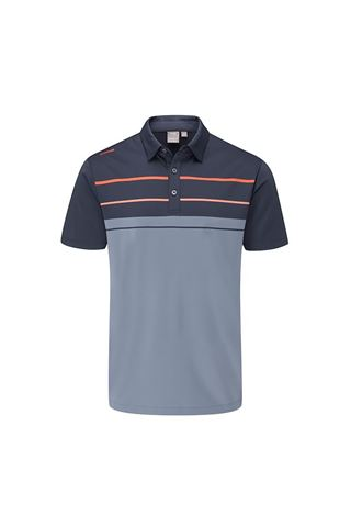 Picture of Ping Men's Staton Golf Polo Shirt - Greystone Multi
