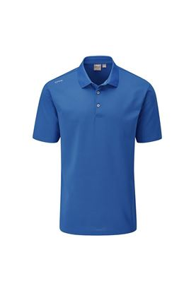 Show details for Ping Men's Lincoln Golf Polo Shirt - Snorkel Blue