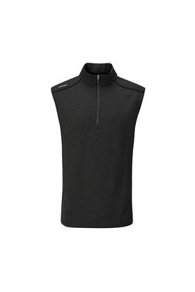 Show details for Ping Men's Ramsey Half Zip Vest - Black
