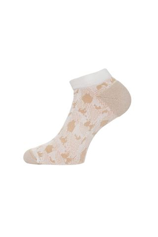 Picture of Calvin Klein Ladies Kosi Tech Socks - Fossil / Yale Blue