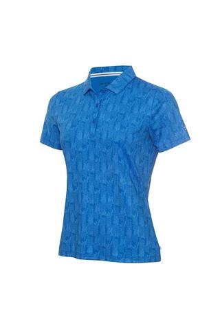 Picture of Calvin Klein zns Ladies Avon Polo Shirt - Yale Blue