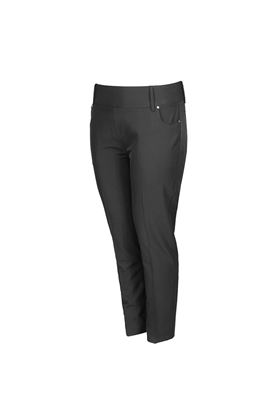 Show details for Island Green Ladies Pull On Golf Trousers - Black