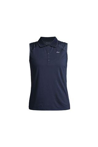 Picture of Rohnisch Ladies Pulse Sleeveless Polo Shirt - Navy