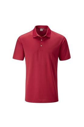 Show details for Ping Men's Lincoln Golf Polo Shirt - Rich Red