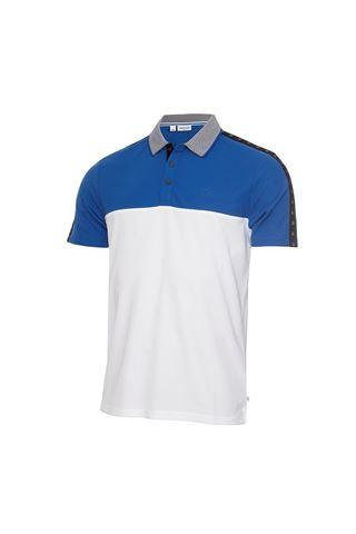 Picture of Calvin Klein Men's Trevino Polo Shirt - White / Nautical Blue