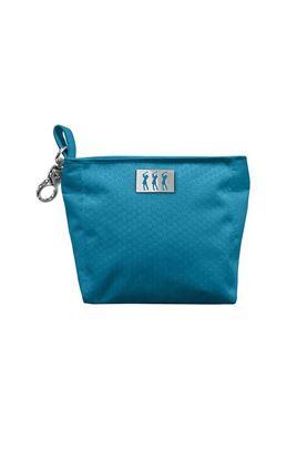 Show details for Surprizeshop Ladies Honeycomb Clip Handbag - Aqua