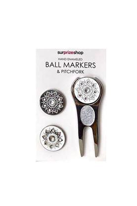 Show details for Surprizeshop Ball Markers & Pitchforks - Glitter