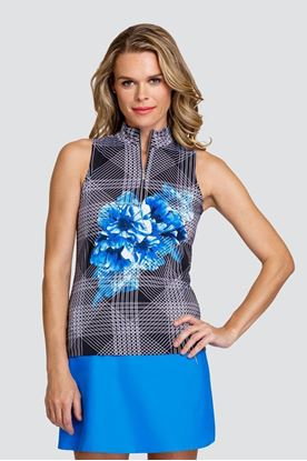 Show details for Tail Ladies Fannie Sleeveless Top - Inflorescence