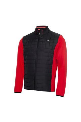 Picture of Calvin Klein Men's Vardon Hybrid Jacket - Power Red / Black