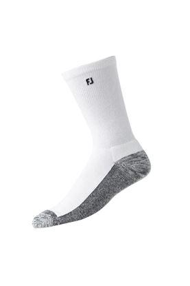 Show details for Footjoy ProDry Crew Socks - White