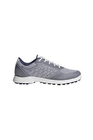 Picture of adidas Women's Alphaflex Sport Spikeless Golf Shoes - Cloud White / Tech Indigo / Cloud White