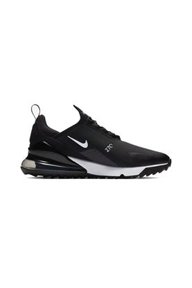 Show details for Nike Golf Men's Air Max 270 G Golf shoes - Black / White / Hot Punch