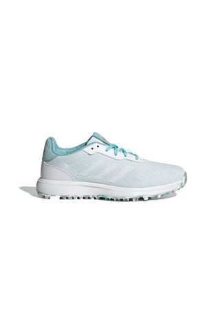 Picture of adidas Women's S2G Spikeless Golf Shoes - Hazy Sky / Cloud White / Grey Two