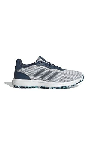 Picture of adidas Women's S2G Spikeless Golf Shoes - Crew Navy / Cloud White / Hazy Sky