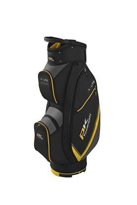 Show details for Powakaddy X-Lite Golf Bag - Black / Titanium / Yellow