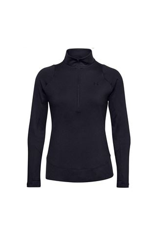 Picture of Under Armour Women's UA Storm Midlayer 1/2 Zip Sweater - Black 001