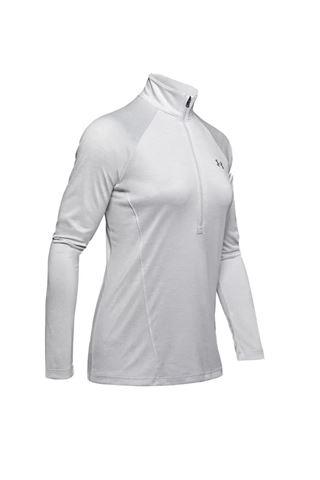 Picture of Under Armour Women's UA Tech Twist 1/2 Zip Top - Grey 014