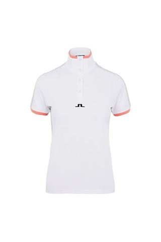 Picture of J Lindeberg Ladies Minna Polo Shirt - White